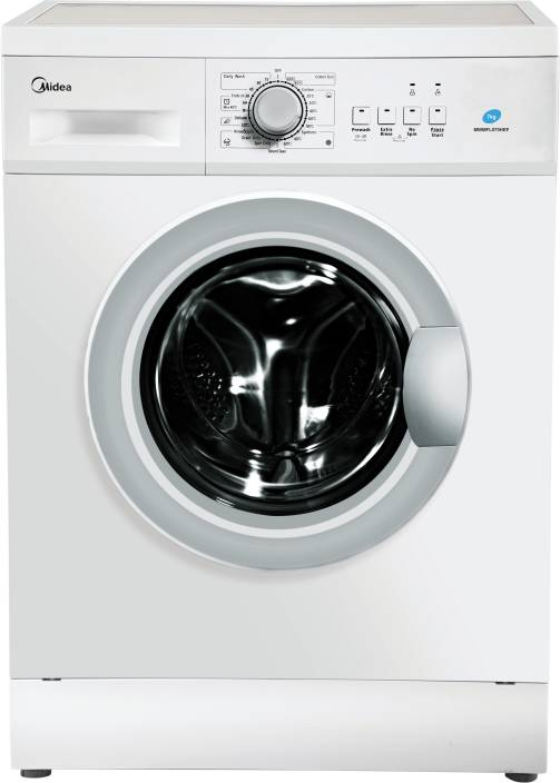 Midea 7 kg Fully Automatic Front Load Washing Machine White