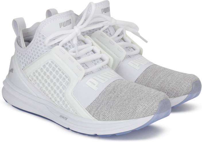 e4bfc21e42d Puma IGNITE Limitless Knit Running Shoes For Men - Buy Puma White ...