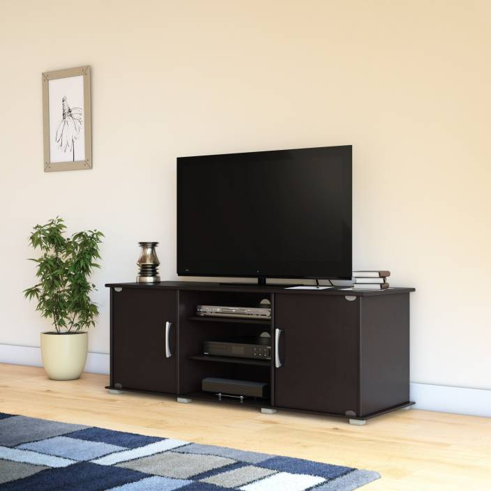 Perfect Homes by Flipkart Riobo Engineered Wood TV Entertainment Unit  (Finish Color - Wenge)