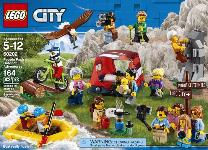 Pack People Adventures164 Lego Pcs Outdoor m8nPywO0vN