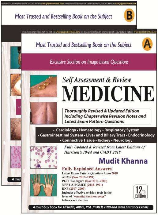 MUDIT KHANNA'S SELF ASSESSMENT & REVIEW MEDICINE (PART A & B