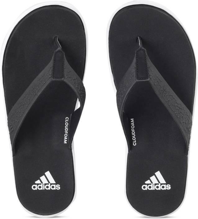 5f1e93502882 ADIDAS BEACHCLOUD CF Y Slippers - Buy CBLACK FTWWHT CBLACK Color ADIDAS  BEACHCLOUD CF Y Slippers Online at Best Price - Shop Online for Footwears  in India ...