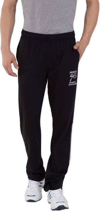 dccd2fe4c Jockey Solid Men Black Track Pants - Buy Black Jockey Solid Men ...