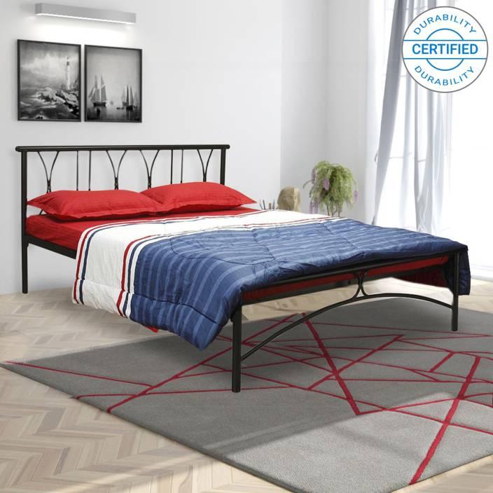 FurnitureKraft Washington Metal Queen Bed