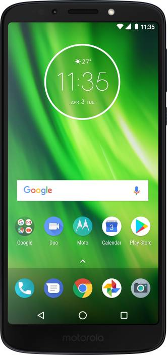 Moto G6 Play (Indigo Black, 32 GB)