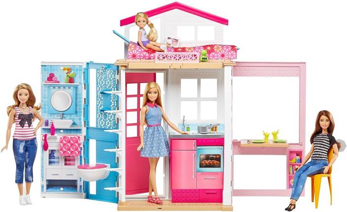 Barbie 2 Story House And Doll 2 Story House And Doll Buy Barbie