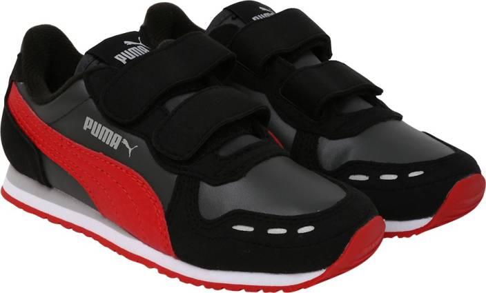 a09f9fb24b Puma Boys & Girls Velcro Running Shoes