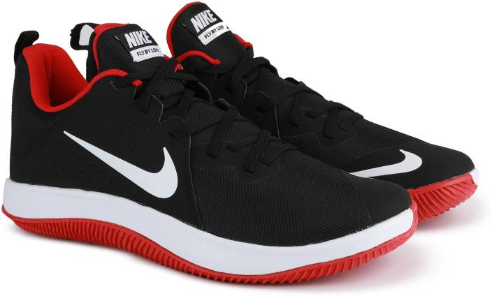 timeless design bd16b 8563a Nike NIKE FLY.BY LOW Basketball Shoes For Men (Black)