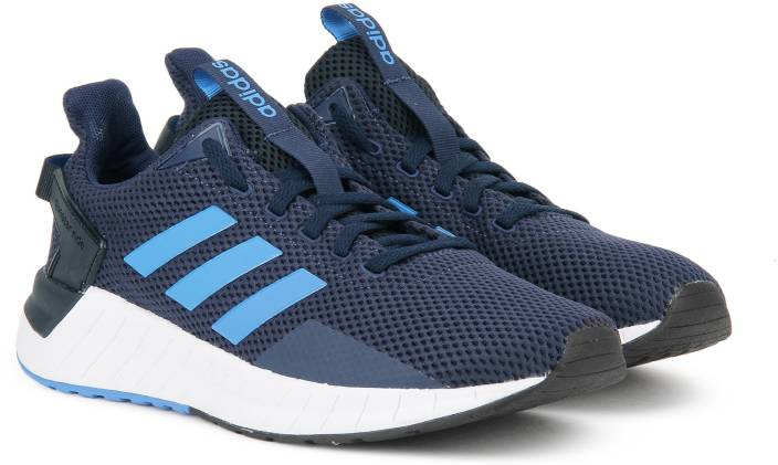 wholesale dealer b094e 10459 ADIDAS QUESTAR RIDE Running Shoes For Men (Blue, Navy)