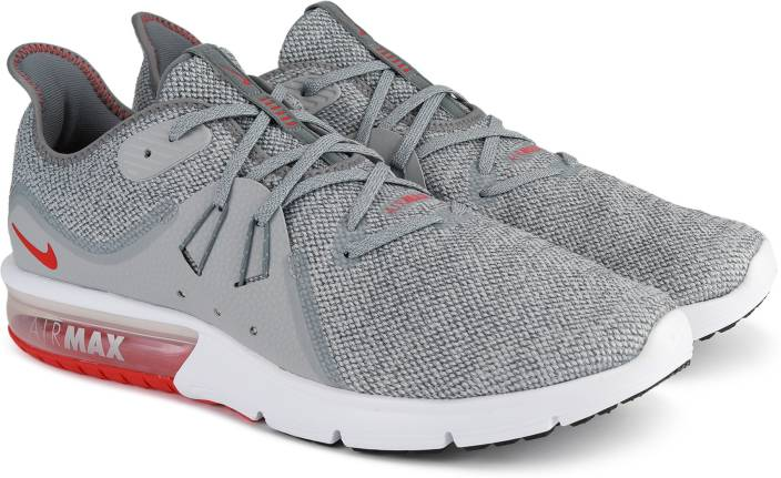 outlet store c21ca af9a7 Nike NIKE AIR MAX SEQUENT 3 Running Shoes For Men (Grey). 4