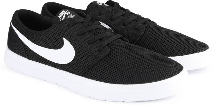 check out 6e5cb 94a95 Nike NIKE SB PORTMORE II ULTRALIGHT Sneakers For Men (Black)