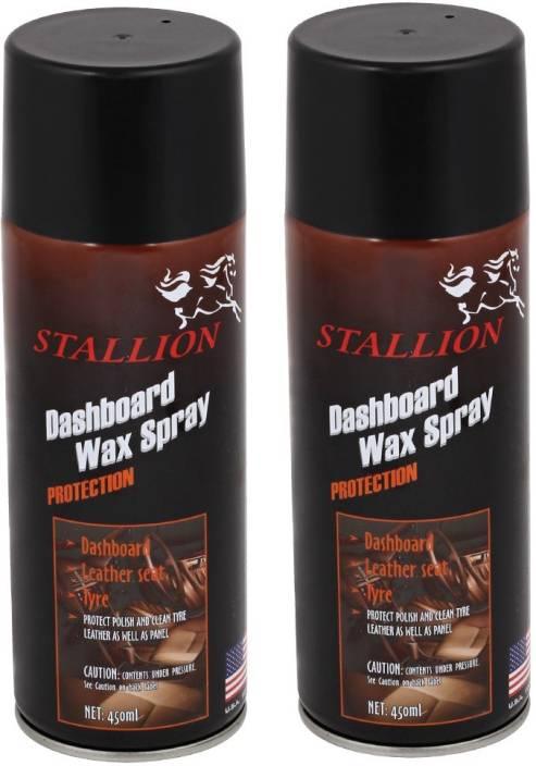 Bismaadh Dashboard Pack Of 2 Black Spray Paint 450 Ml