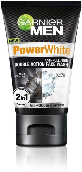 55cf205882 Garnier Men Power White Anti Pollution Face Wash - Price in India ...