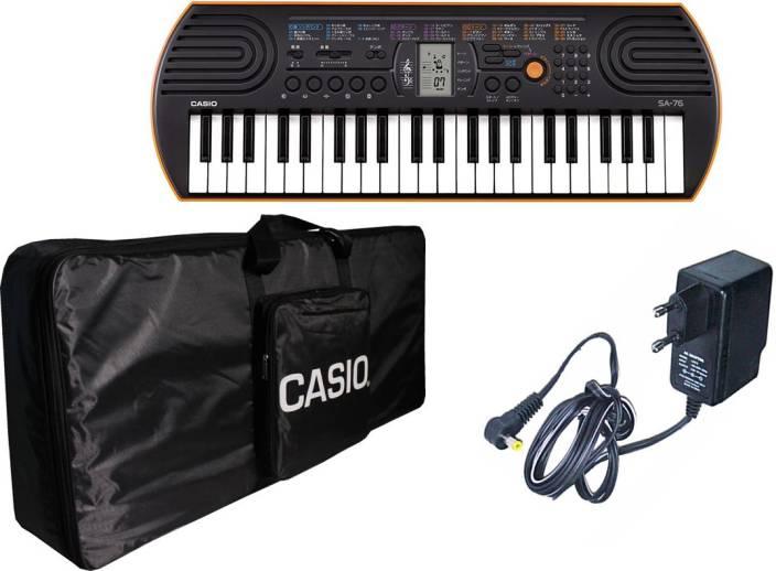 b68e6ab0b Casio SA76 + bag Casio bag Digital Portable Keyboard Price in India ...