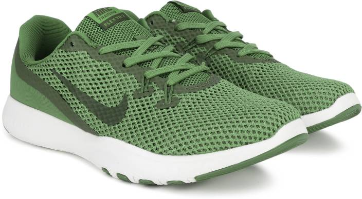 9f6928b96c34a Nike FLEX TRAINER 7 Training Shoes For Men - Buy OLIVE GREEN BLACK ...