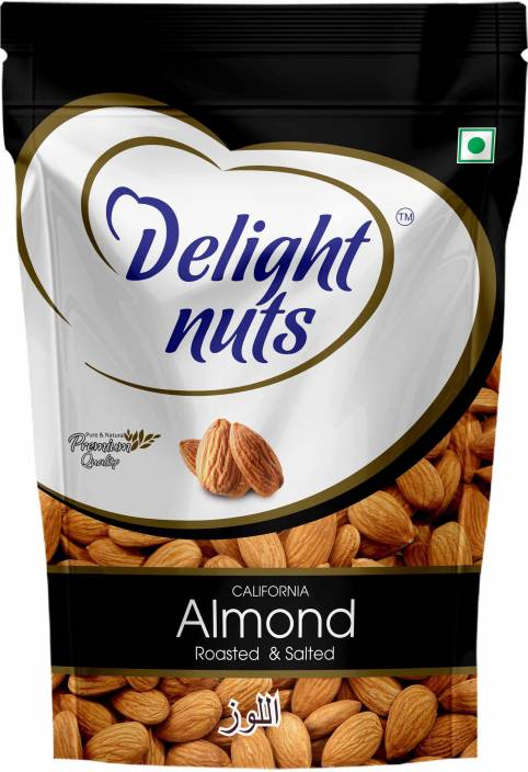 Delight Nuts California Almonds Roasted & Salted 200g Almonds