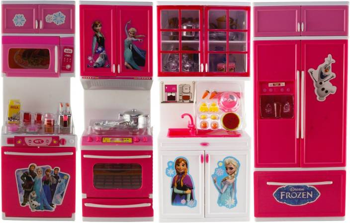Wishkey Battery Operated Modern Frozen Kitchen And Accessories