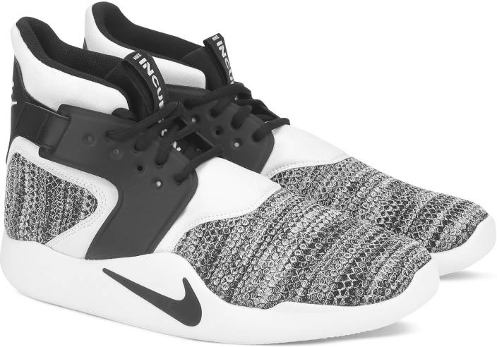 cheap for discount 7b894 6b7a2 Nike NIKE INCURSION MID SE Sneakers For Men (Black, White)