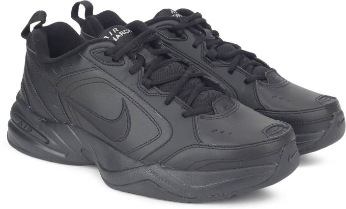 buy online 8e19c 0548a Nike AIR MONARCH IV Training  Gym Shoes For Men (Black)
