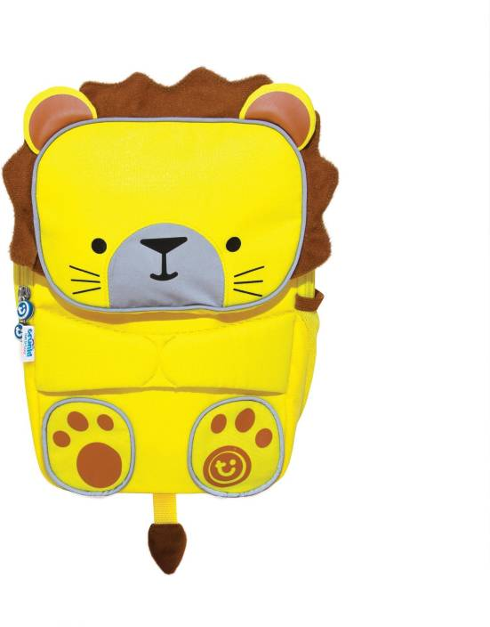a61f6f6e22c0 Trunki Toddlepak Backpack Leeroy The Lion 4 L Backpack Yellow ...
