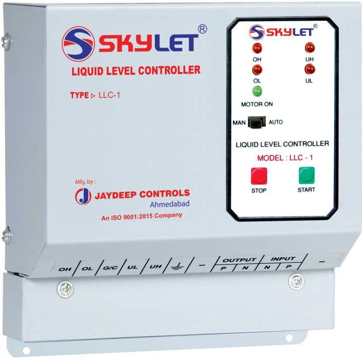 Skylet Fully Automatic Single Phase Water Level Controller With Line