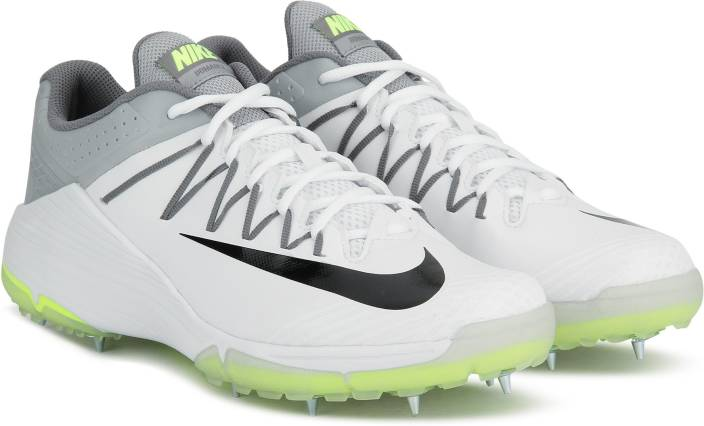 445bd680947a Nike DOMAIN 2 SS 19 Cricket Shoe For Men - Buy WHITE/BLACK-WOLF GREY ...