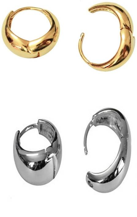 5090ecba3 Flipkart.com - Buy Stylish Hunts Earrings for Men Boys Studs Gold & silver  Salman Khan Inspired Piercing kaju Bali Metal Stud Earring Online at Best  Prices ...
