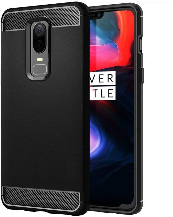 huge selection of 8cf4c 9e607 Flipkart SmartBuy Back Cover for OnePlus 6, 1 Plus 6, Carbon Fiber