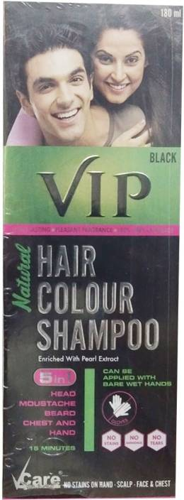 Vcare Vip Hair Colour Shampoo 5 In 1 Hair Color Price In India
