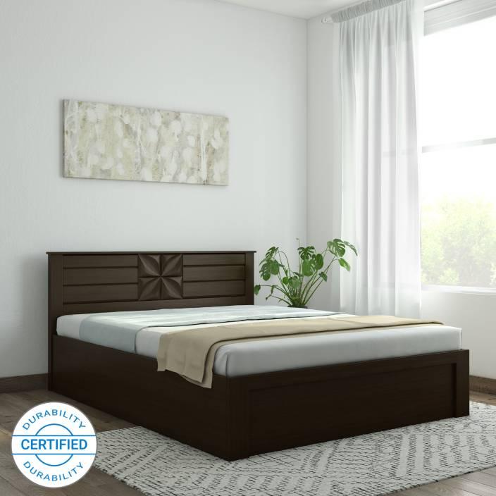 Queen Bed.Spacewood Engineered Wood Queen Hydraulic Bed