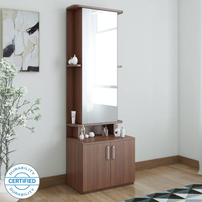 6874700f940 Spacewood Original Engineered Wood Dressing Table (Finish Color - Brown)