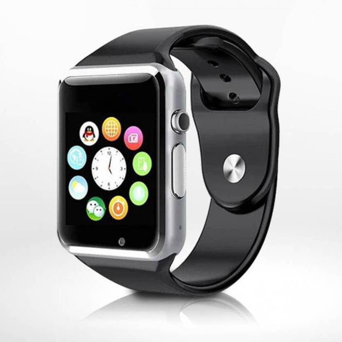 aae7fd29974 GLOWISH DAPS SIM   BLUETOOTH MOBILE MULTICOLOR Smartwatch (Multicolor Strap  FREE SIZE)