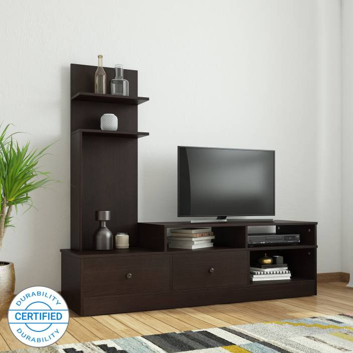 Flipkart Perfect Homes Sirena Tv Entertainment Unit Finish Color Wenge