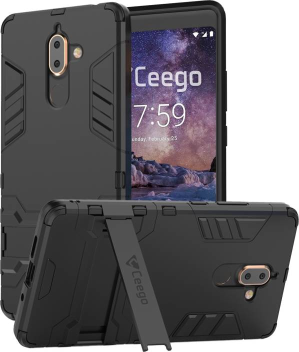 sports shoes f7f76 a5bb8 Ceego Back Cover for Nokia 7 Plus