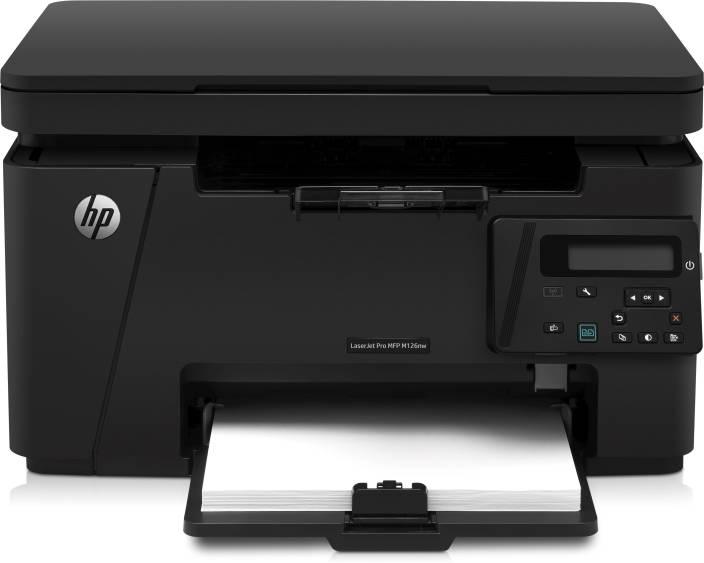 Hp Laserjet Pro Mfp M126nw Multi Function Wireless Printer Hp
