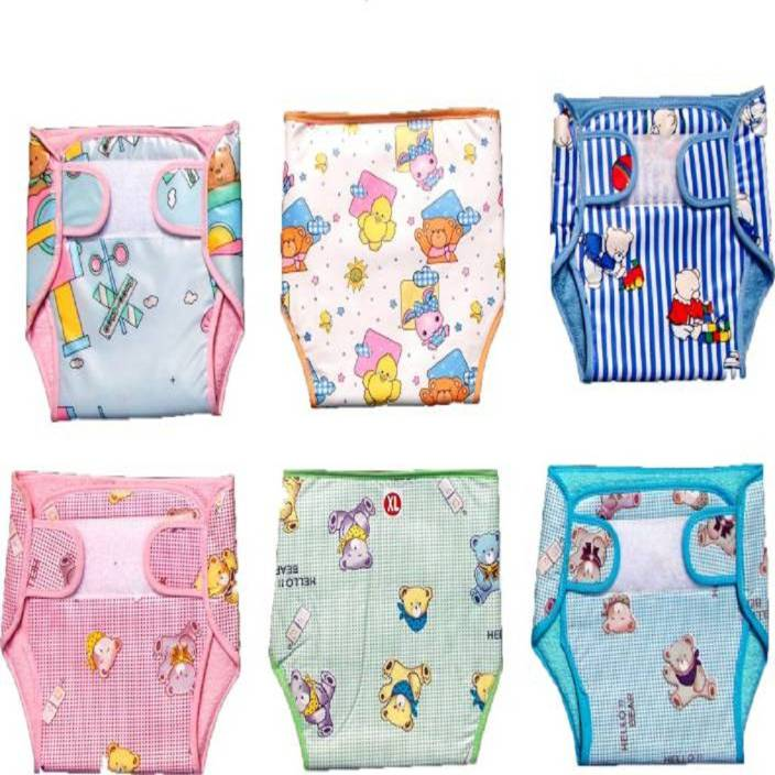 fb8fc44b7df babique Baby New Just Born 100% Double Cotton Cloth Nadi Washable Reusable Cotton  Diaper Langot Mini