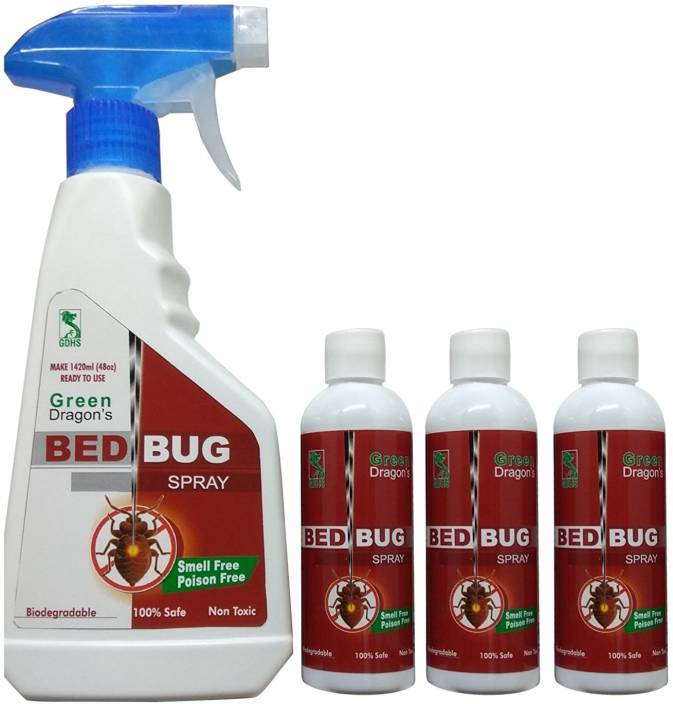Green Dragon Biodegradable Bed Bug Spray | Make Ready to Use 1420ml