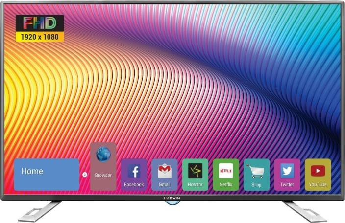 cdbb58f18 Kevin 122cm (50 inch) Full HD LED Smart TV Online at best Prices In ...