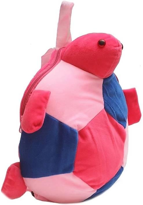 kidofly Swaty toys kids soft school bag 2 to 5 age tortoise - 15 inch  (Multicolor) 80d720b3df1da