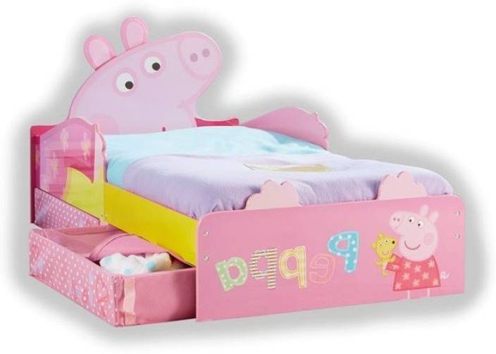 innovative design 9df74 0a41e Peppa Pig Toddler Engineered Wood Single Bed Price in India ...