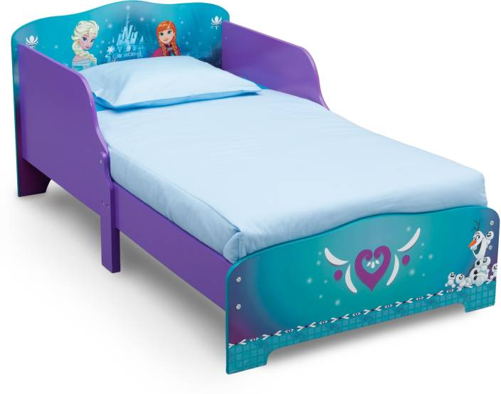 fe13599b4 Disney Frozen Toddler Engineered Wood Single Bed (Finish Color - Glossy)