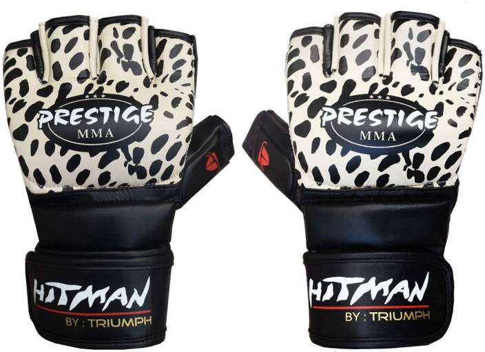 Hitman Prestige Print Micro Leather Plain Cream/Print Mixed