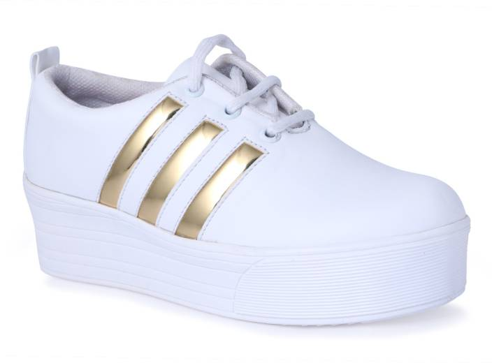 Shoe Fellow Girls Casual Shoes White Color Original Casuals For
