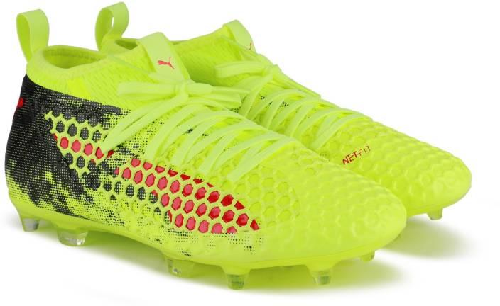 fea754f1639 Puma FUTURE 18.2 NETFIT FG AG Football Shoes For Men - Buy Fizzy ...