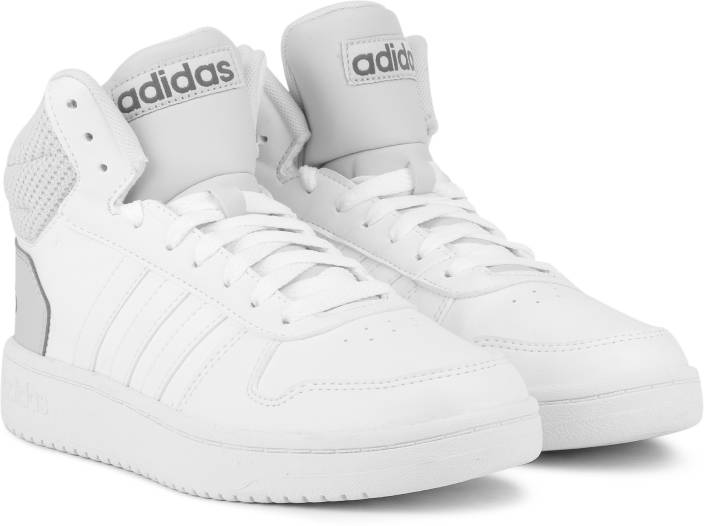 897e786172a030 ADIDAS HOOPS 2.0 MID Basketball Shoes For Men - Buy FTWWHT FTWWHT ...
