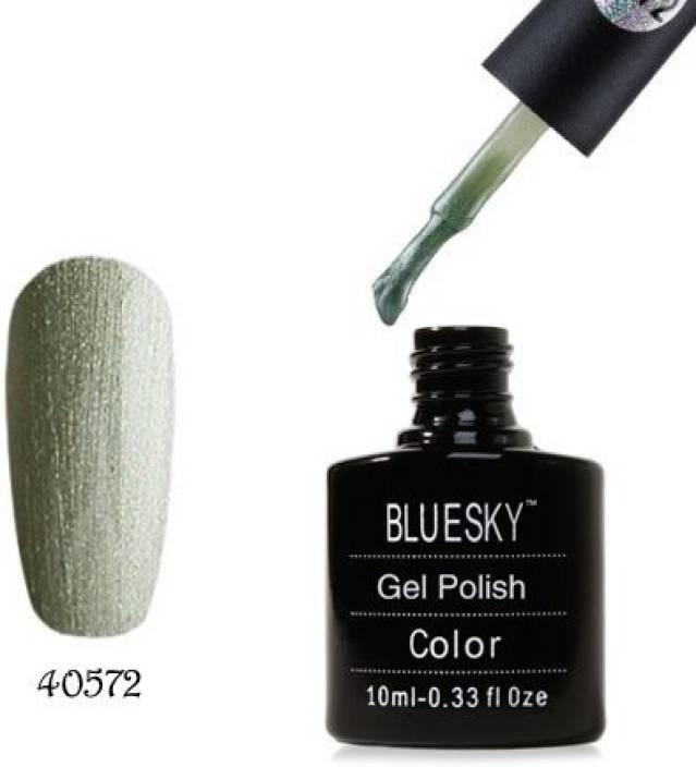 Blue Sky 80572 Soak Off Gel Nail Polish Olive Green Green