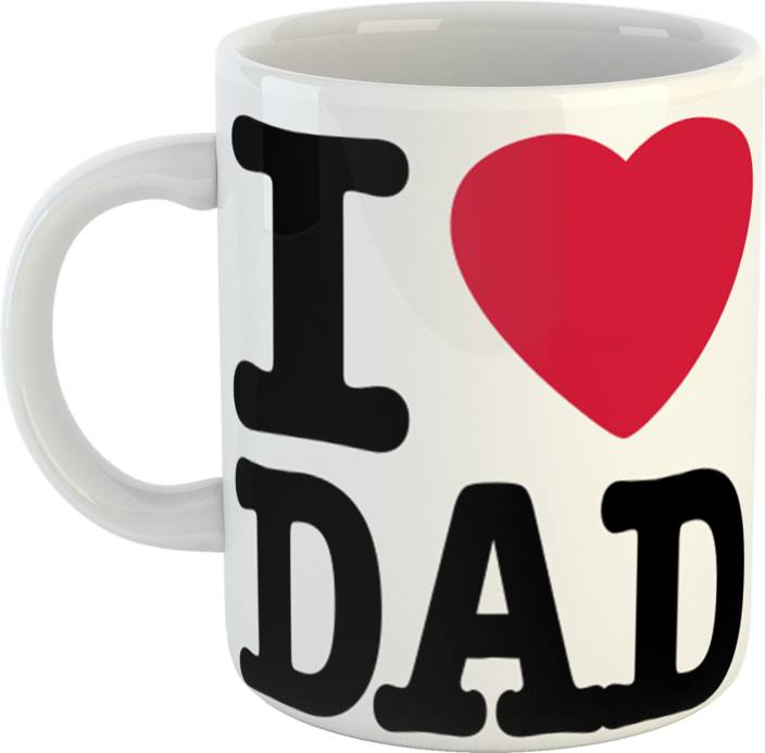GiftOwl Perfect Happy Fathers Day Gift For My Papa White Coffee 330 Ml