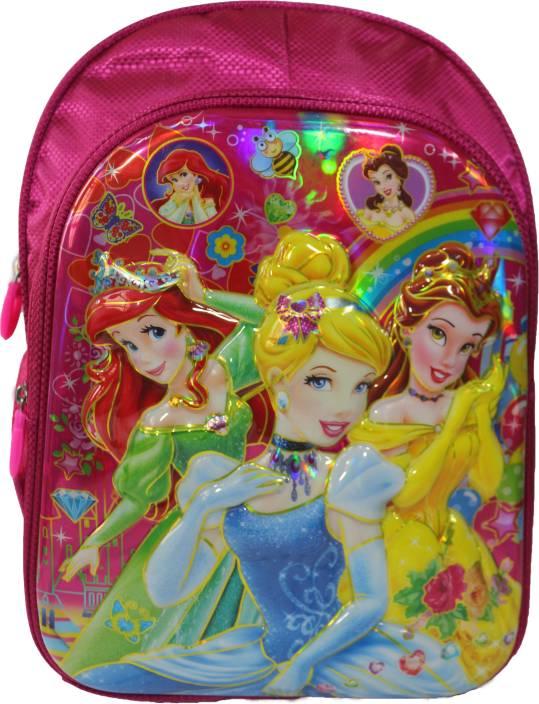 Barbie 3D Disney Princess Cinderella Frozen Anna Elsa Sofia Shcool Bag  Backpack For Girls Class Standard 455c10b36d1de