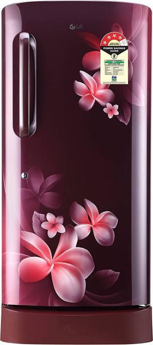 21dfeb7d0d8 LG 215 L Direct Cool Single Door 4 Star Refrigerator Online at Best ...