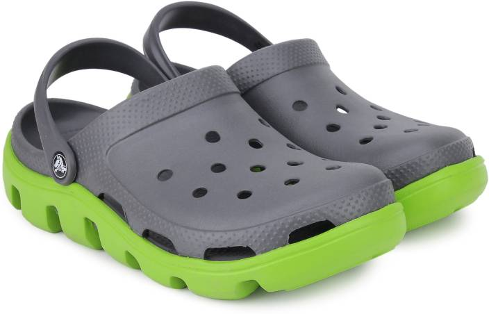 fb3cab46a93277 Crocs Men Graphite Volt Green Clogs - Buy Graphite Volt Green Color Crocs  Men Graphite Volt Green Clogs Online at Best Price - Shop Online for  Footwears in ...